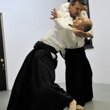 Sensei en action avec David.